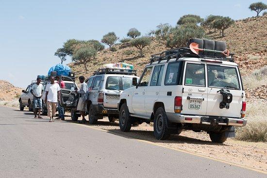 Mek'ele, Etiopia: World Sun Ethiopia Tours Fahrzeuge - Kleine Gruppen mit nie mehr als 4 Autos - wiewirreisen.de