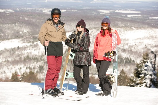 Palmerton, Pensilvania: just hanging out on the snow
