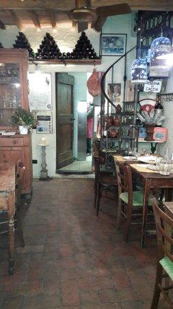 Montefiridolfi, Italy: PO KOLACJI W A CASA MIA