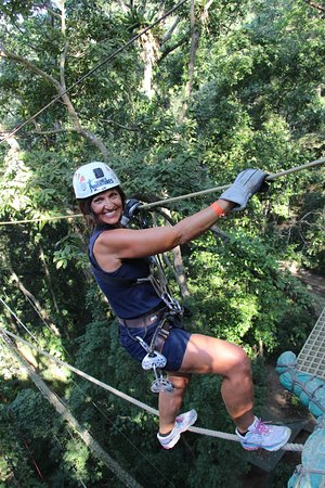 Extreme Zip Line Adventure: JUST DO NOT LOOK DOWN!!!!!!