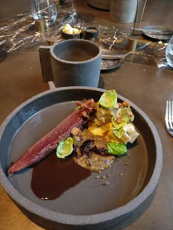 Pastorale: hare with chestnut and prunes
