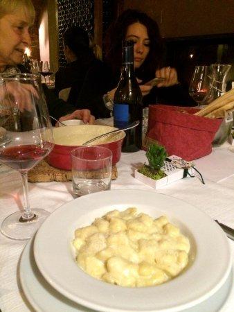 Bra, Italy: Gnocchi al Castelmagno