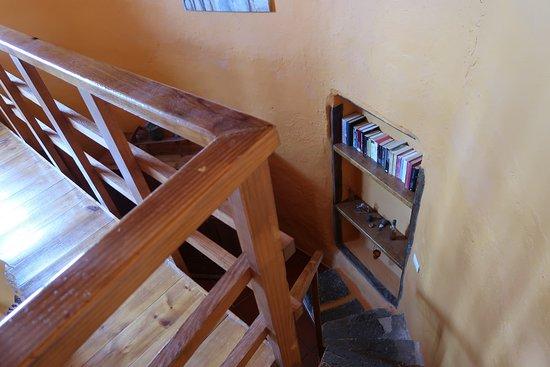 Las Laderas, Spain: Steile trap