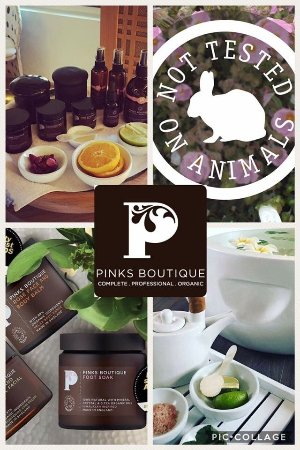 Perfect Touch Beauty Salon: Pinks Boutique. Pure Luxury and its Organic, not tested on animals! Its also Vegan friendly!