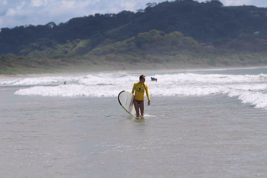 Frijoles Locos Surf Shop & Spa: Playa Grande- uncrowded surf lessons. Room to move. Professional surf instruction.