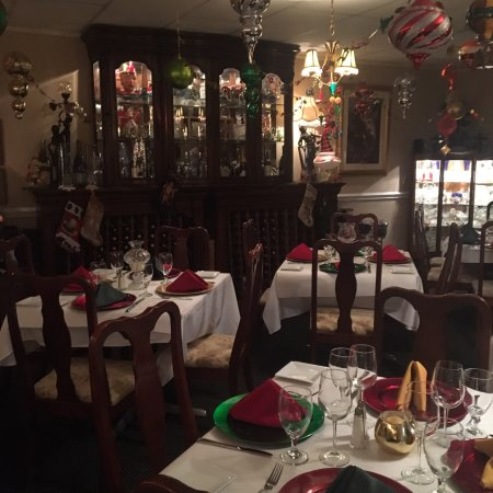 Lake Lure, NC: Christmas - Holidays in the dining room !
