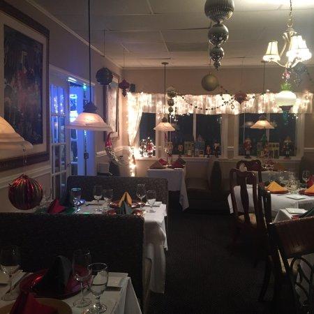 เลกลัวร์, นอร์ทแคโรไลนา: Christmas - Holidays in the dining room !