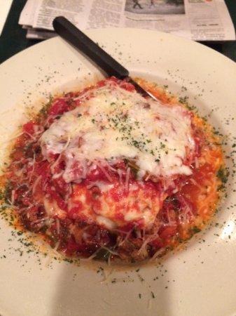 Pryor, Oklahoma: Lasagna (huge portions!)