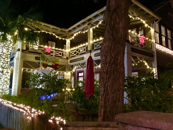 The Old Powder House Inn: Old Powder House Inn during the Festival of Lights