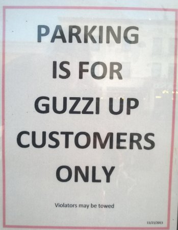 Alpine, TX: My Guzzi was not going to be towed...
