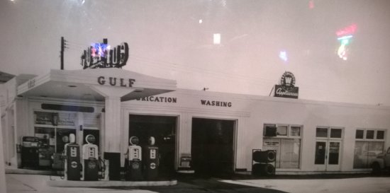 Alpine, TX: At one time, a Gulf Station.
