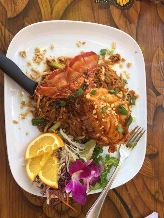 Malakor Thai Cafe: Lobster Pad Thai