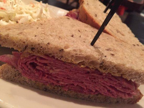 Brookline, MA: Corned Beef Sandwich