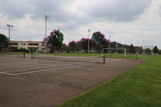 St. Catharines, Canada: The tennis ffield
