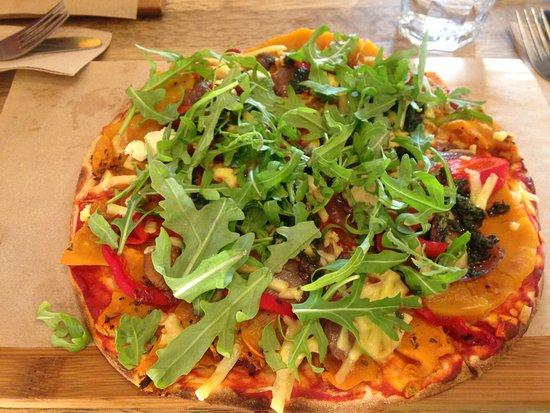 Rozelle, Australia: ベジタリアンピザ