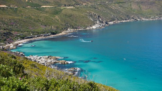 Hout Bay, Sudáfrica: Directly below Chapman's Peak Drive