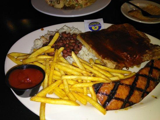 Belleville, MI: Ribs Andouille Sausage