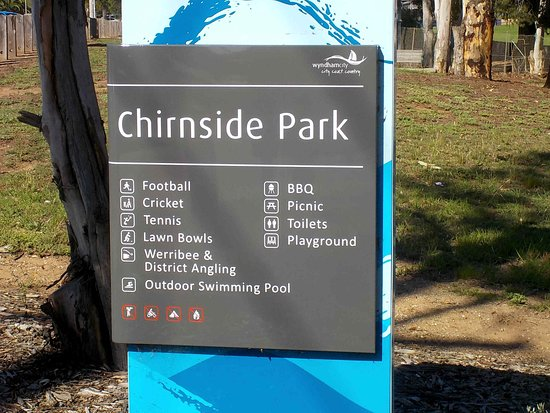 Werribee, Australia: Park facilities listed