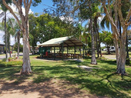 Emu Park, Australia: Main BBQ area