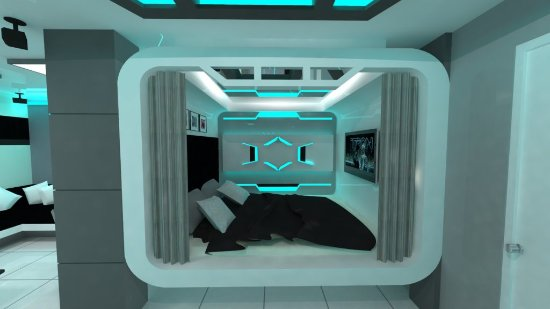Caloocan, Philippines: Tron PARTY Room