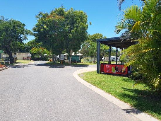 Emu Park, Australia: Park Entrance / Reception