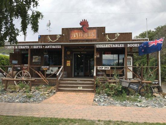 Omarama, Nowa Zelandia: Front of store
