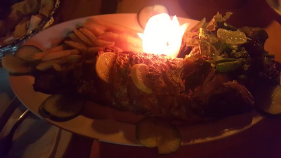Patnem, India: Grilled red snapper