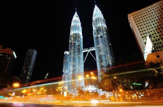 Ciudad privada de Kuala Lumpur en un...