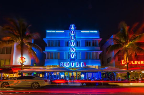 Miami Sunset and Night Photography...