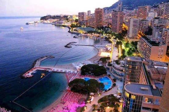 Monaco og Monte-Carlo by Night Tour