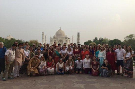 Overnight Agra tour visit Taj Mahal...