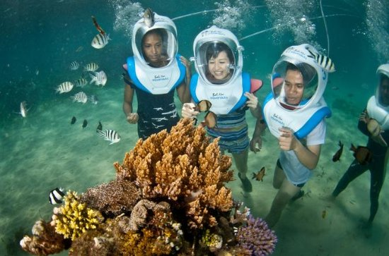 Aquanauts Sea Walking in Nusa...