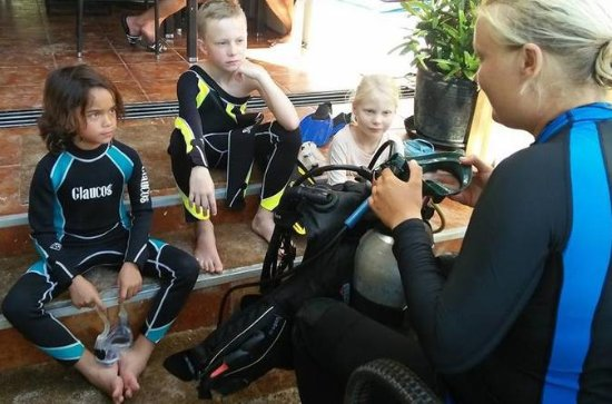 Discover Scuba Diving Kinder in ...