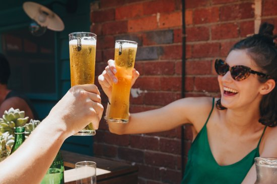 Collingwood, Australia: Cheers and beers