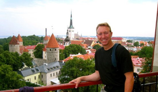 Toompea-åsen: That is the face of a Happy Tourist!