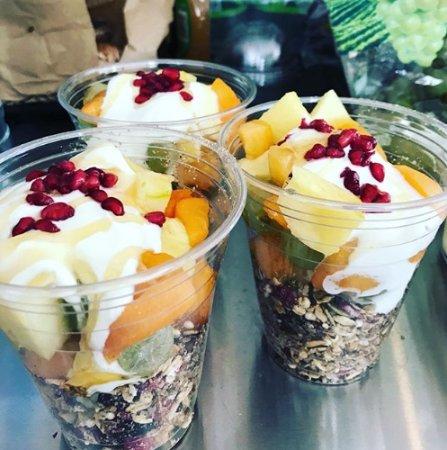Foxton, New Zealand: Take away Fruit bowls