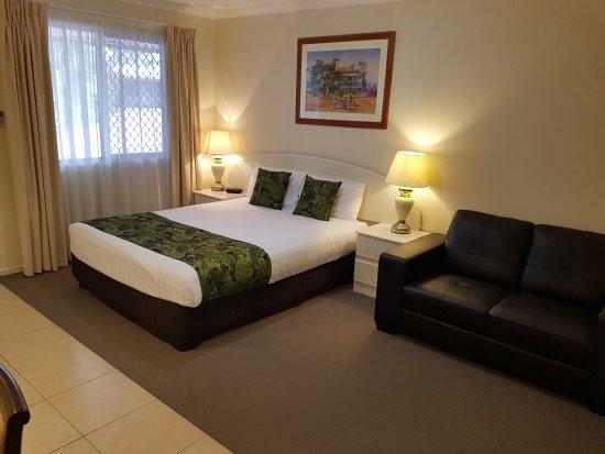 Chinchilla, Australia: Queen Room - 1x Queen Bed