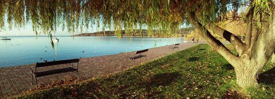 Балатоналмади, Венгрия: Balatonalmádi vízparti sétány