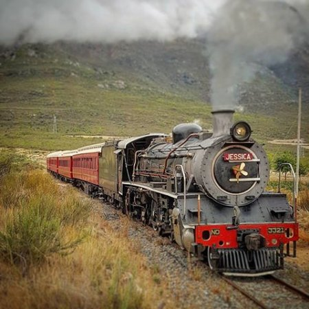 Tulbagh, South Africa: Take a train ride from Ceres to Wolseley and back, fun for the whole family.