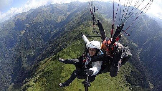 Transylvania Fly: Cross over Fagaras mountains