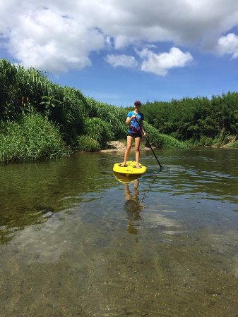 Babinda Kayaking: Mastering the SUP.