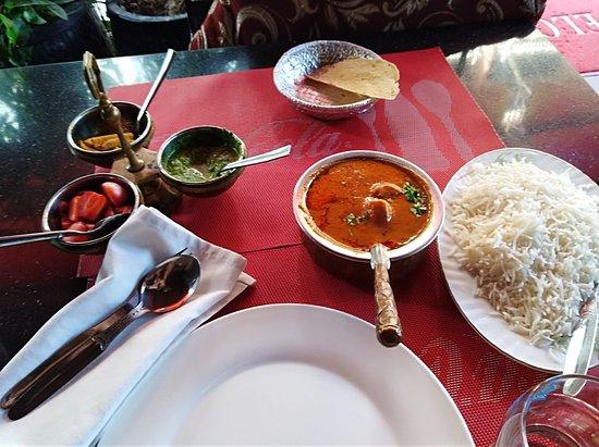 A big (too big?) menu  - Picture of Angkor India Restaurant
