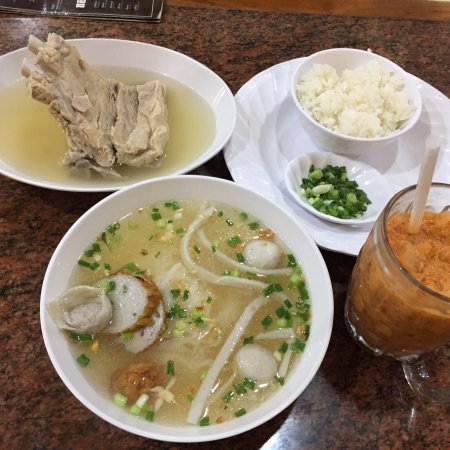 Sia fish noodle chiang mai restaurant reviews phone for Mai mai fish