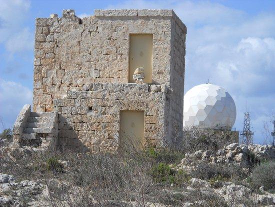 Dingli, Malta: Радиолокационная станция