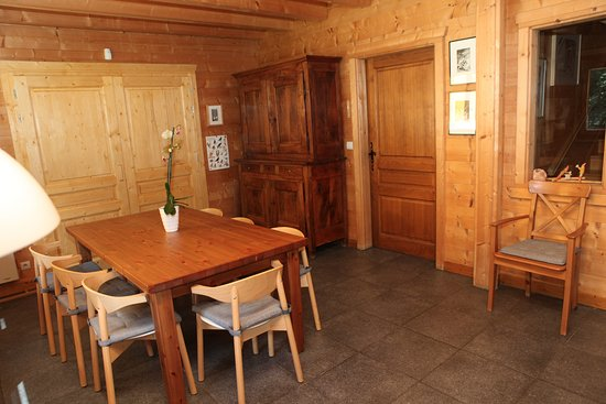 salle manger photo de chalet darjiling les praz de chamonix tripadvisor. Black Bedroom Furniture Sets. Home Design Ideas