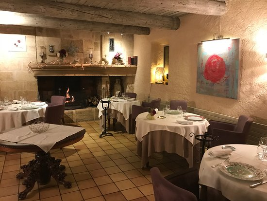 Saint-Cannat, فرنسا: Salle à manger
