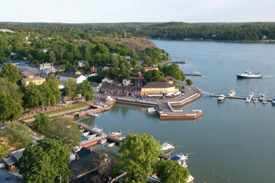 Naantali Old Town by Bird Eye view