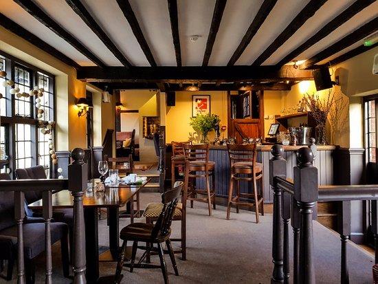 Chiddingfold, UK: Inside the lower bar