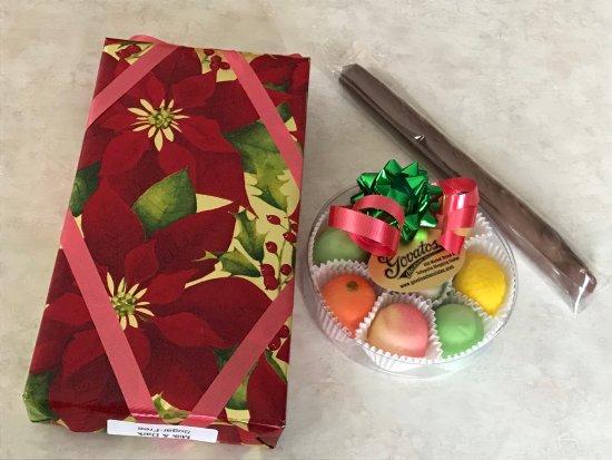Wilmington, DE: Gift Boxes of Chocolates & Marzipan, Chocolate Covered Pretzel Rod