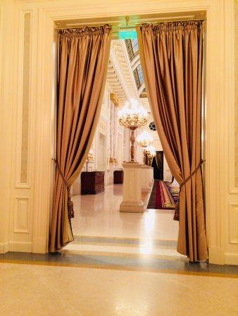 Лаунж возле рецепции Billede Af Fairmont Grand Hotel